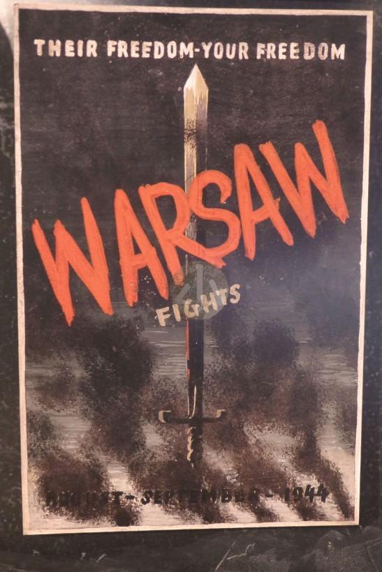 「他們的自由,你的自由,上吧,華沙!」