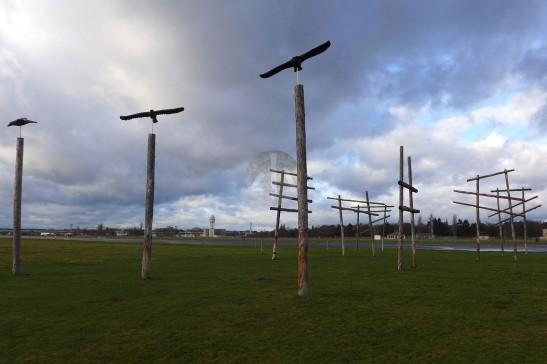 天空與飛鳥,德國藝術家的在地作品。