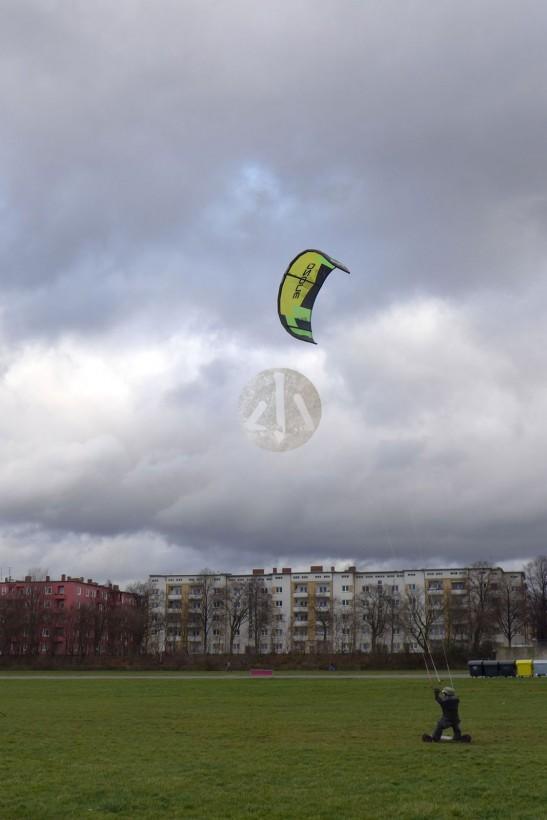 這是滑翔風箏。