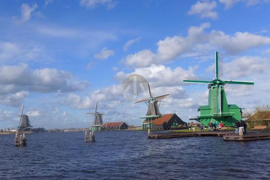 荷蘭3月理應多雨,但我們幸運地遇上了兩天的好太陽。