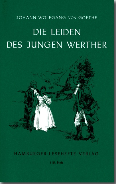 《少年維特的煩惱》(當然是德文版)。