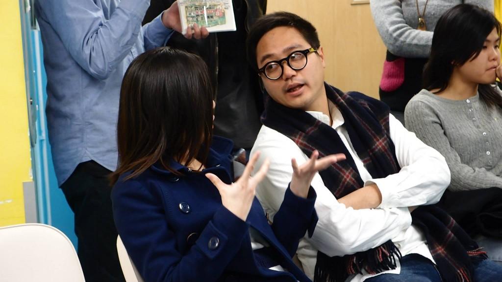 袁智仁(右)。
