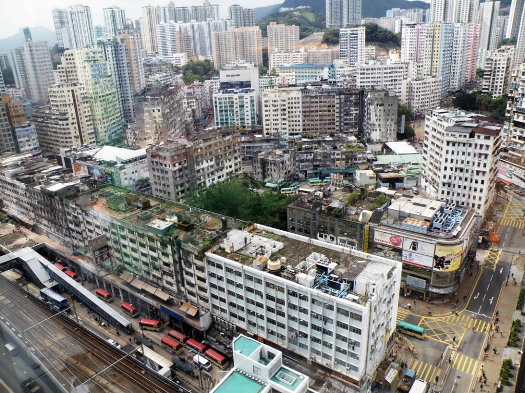 Kwun_Tong_Old_Town_Birdview