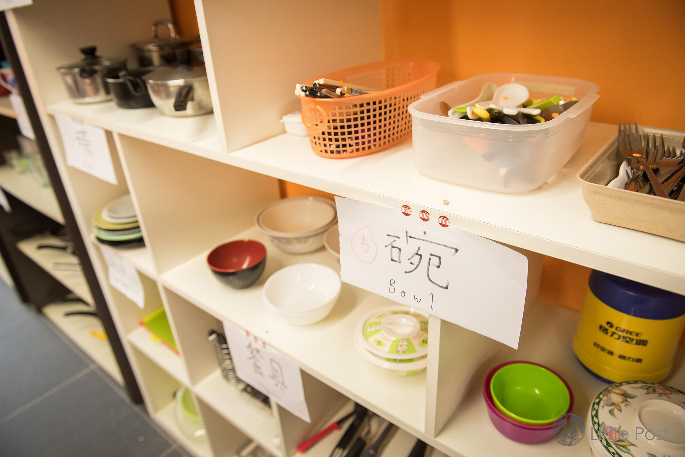 碗筷都標價3至5個時分,並不是$3至$5元呢!
