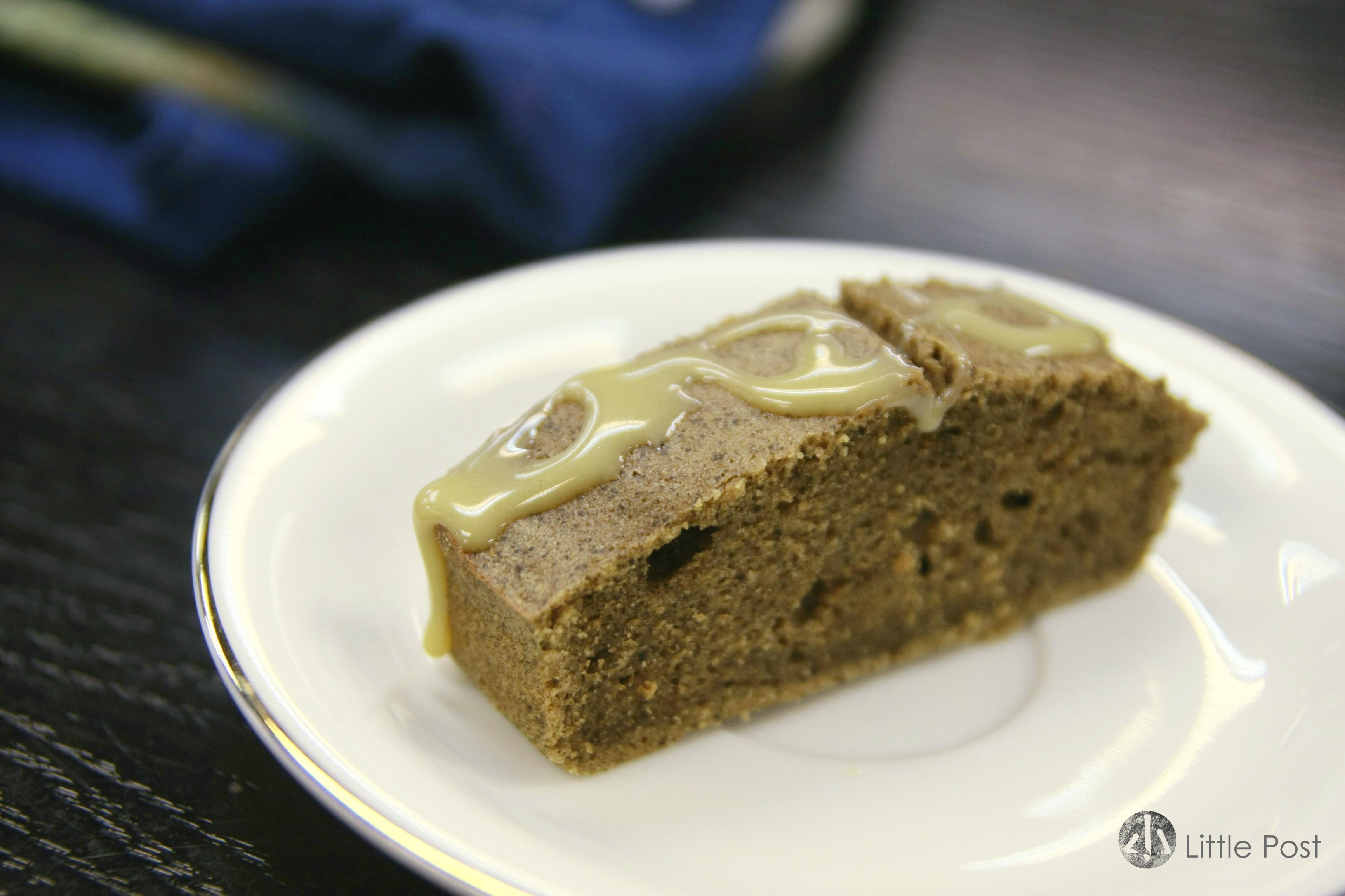 茶走蛋糕,很有驚喜的一件蛋糕,味道沒有「搞錯」呢!